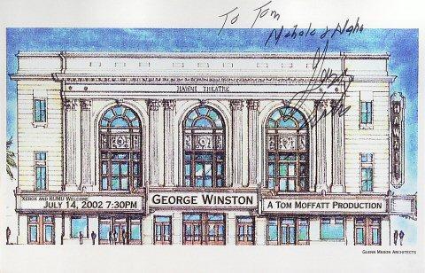 George Winston Poster