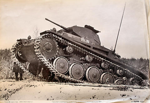 German PzKpfw II of the 3rd Panzer Division Poster