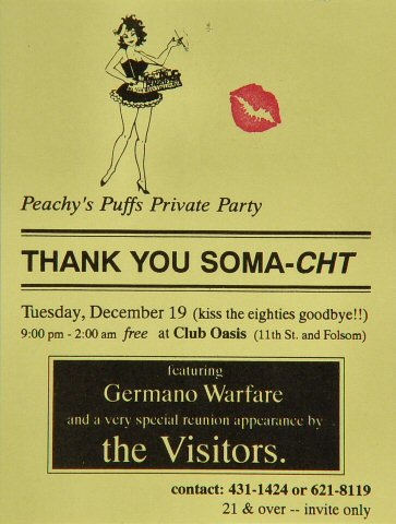 Germano Warfare Handbill