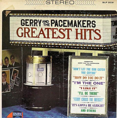 "Gerry & the Pacemakers Vinyl 12"" (Used)"