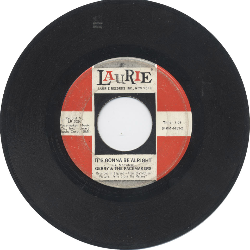 """Gerry & the Pacemakers Vinyl 7"""" (Used)"""