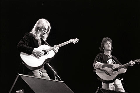 Gerry Beckley & Dan Peek Fine Art Print