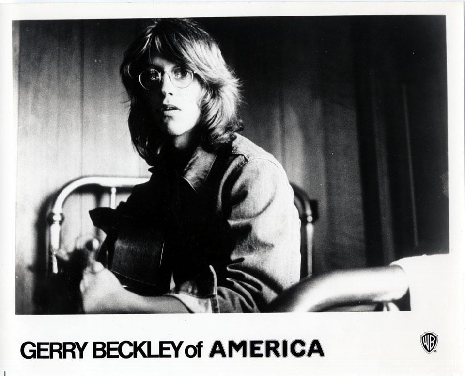 Gerry Beckley Promo Print