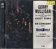 Gerry Mulligan and The Concert Jazz Band CD