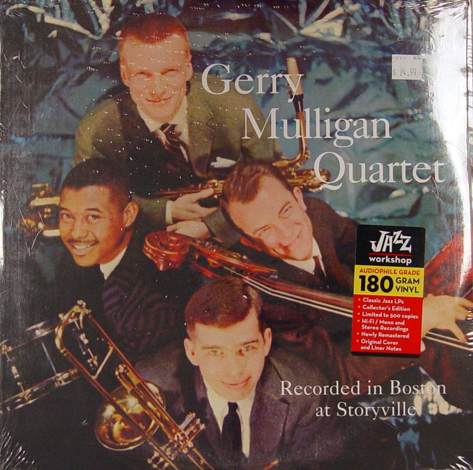"""Gerry Mulligan Quartet Vinyl 12"""" (New)"""