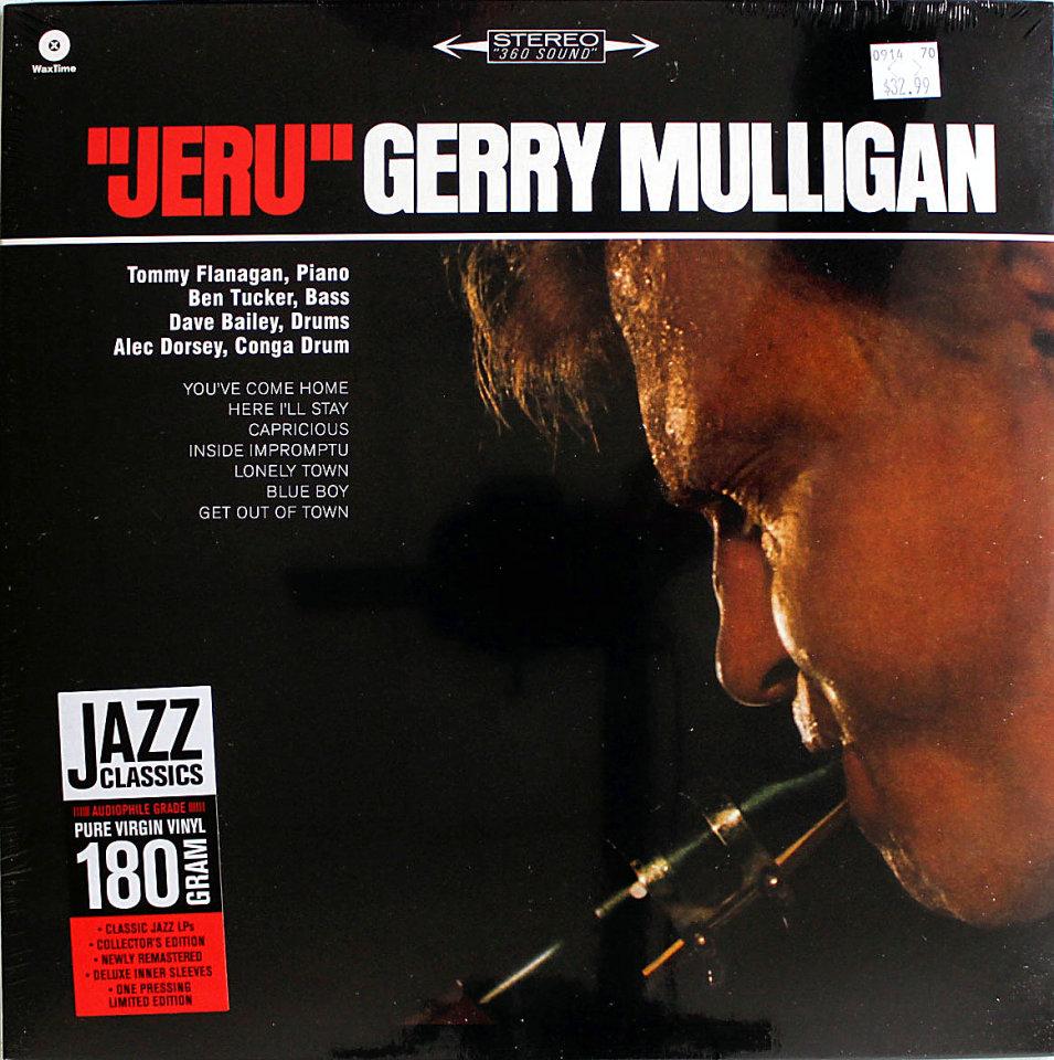 "Gerry Mulligan Vinyl 12"" (New)"