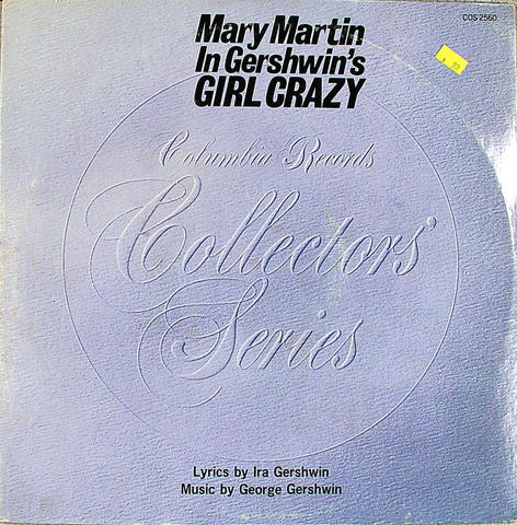 "Gershwin's Girl Crazy Vinyl 12"" (Used)"