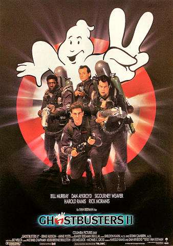 Ghostbusters II Poster