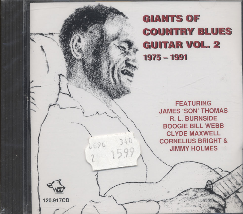 Giants Of Country Blues Guitar CD