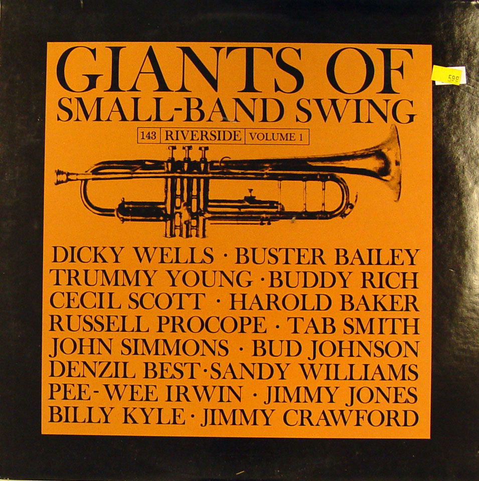 """Giants of Small-Band Swing Volume 1 Vinyl 12"""" (Used)"""