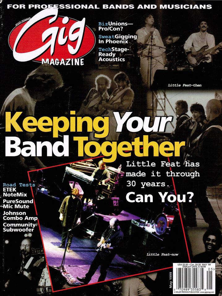Gig Magazine Vol. 3 No. 5