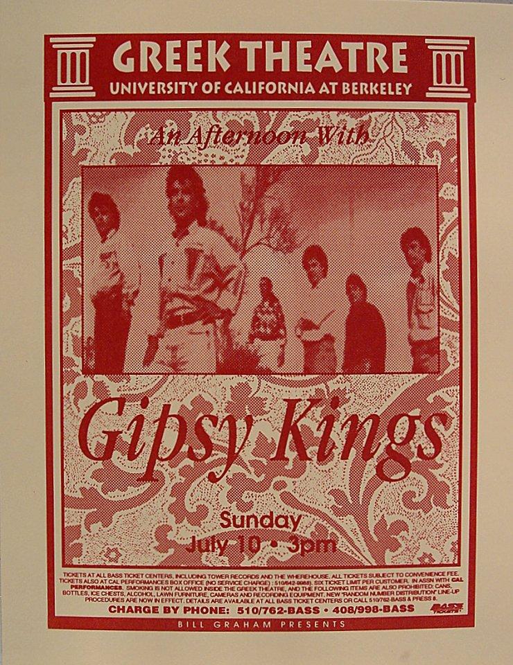 Gipsy Kings Handbill