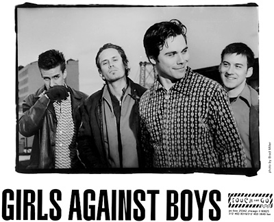 Girls Against Boys Promo Print