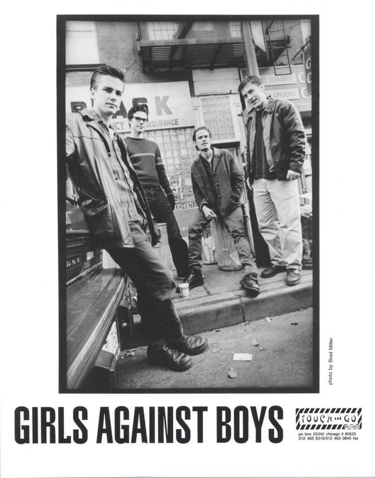 Girls Against Boys Promo Print