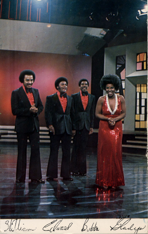 Gladys Knight and the Pips Postcard