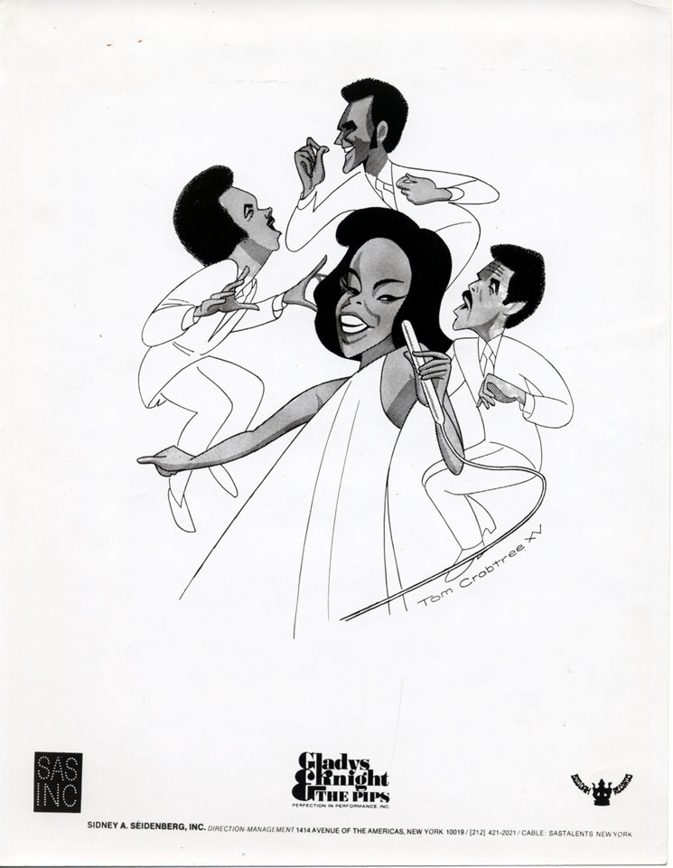 Gladys Knight and the Pips Promo Print