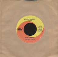 "Glen Campbell Vinyl 7"" (Used)"