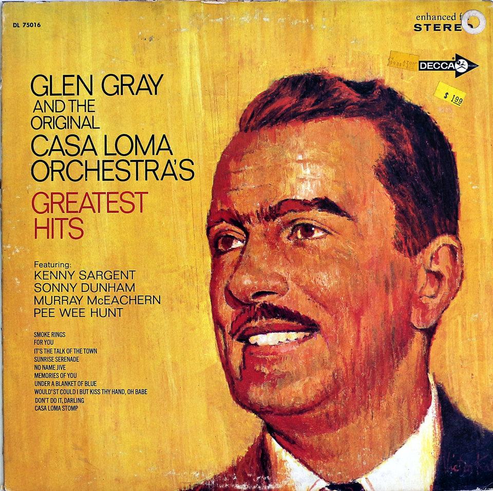 "Glen Gray and the Original Casa Loma Orchestra Vinyl 12"" (New)"