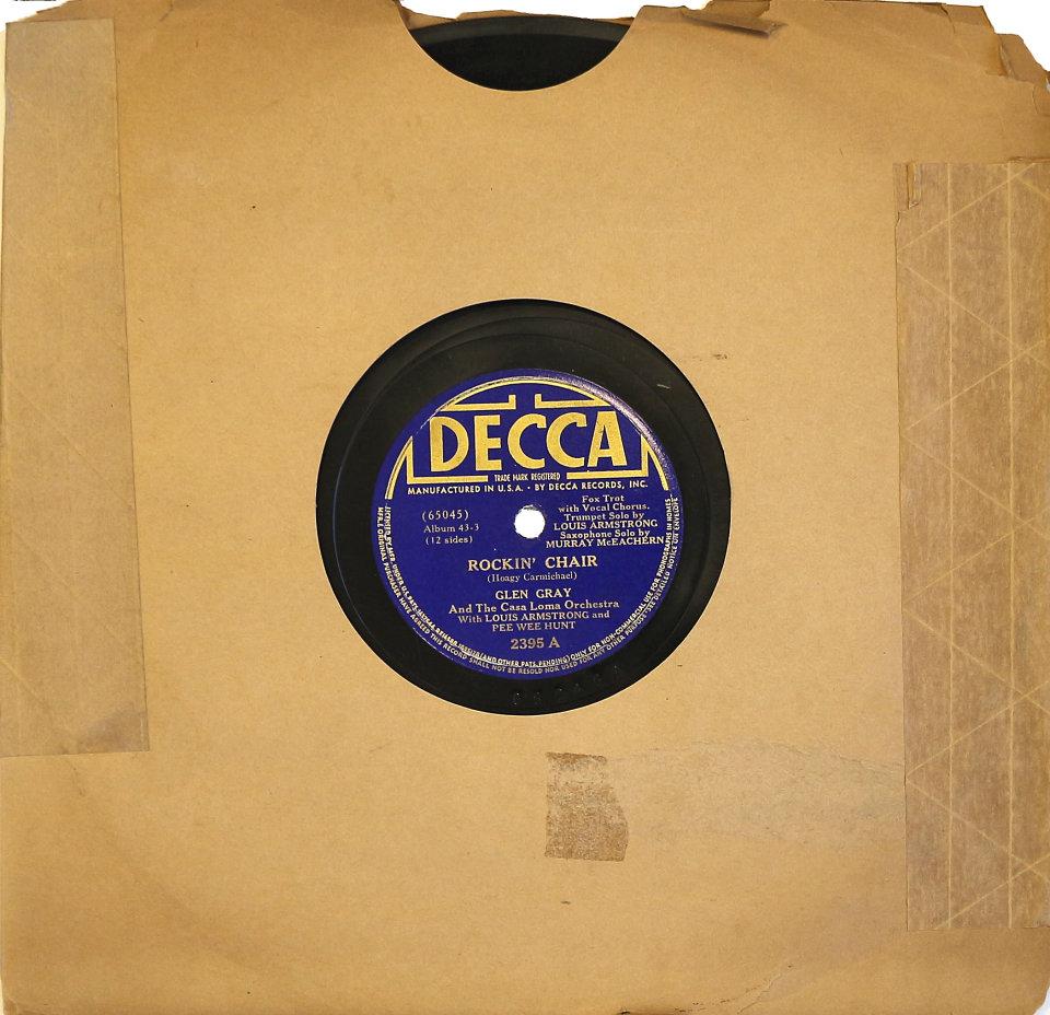 Glen Gray Plays Hoagy Carmichael Songs 78