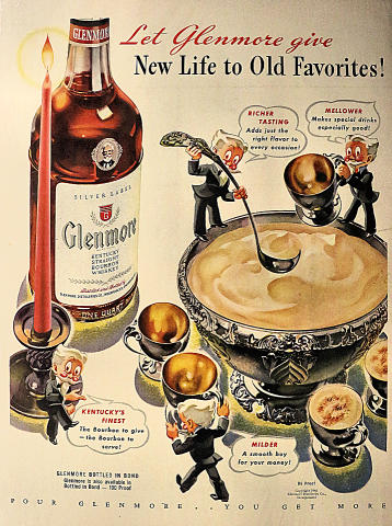 Glenmore: Kentucky Straight Bourbon Whisky Vintage Ad