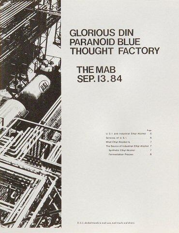 Glorious Din Handbill
