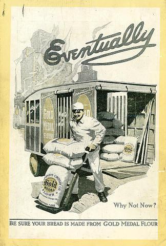 Gold Medal Flour Vintage Ad