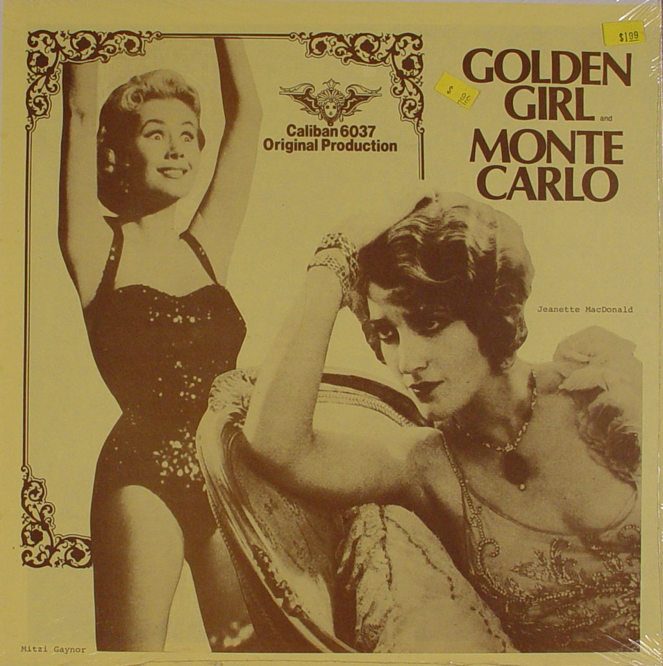 "Golden Girl / Monte Carlo Vinyl 12"" (New)"