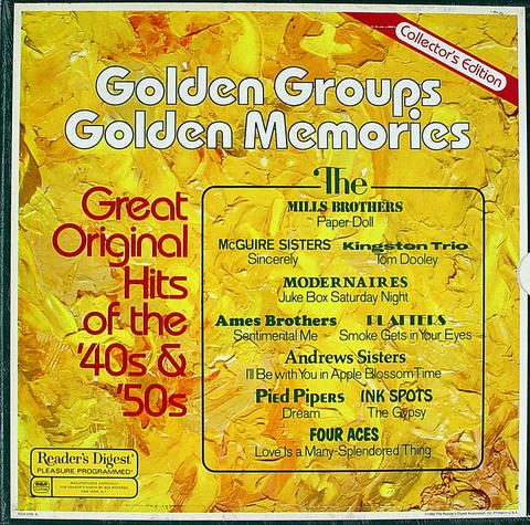 "Golden Groups Golden Memories Vinyl 12"" (Used)"