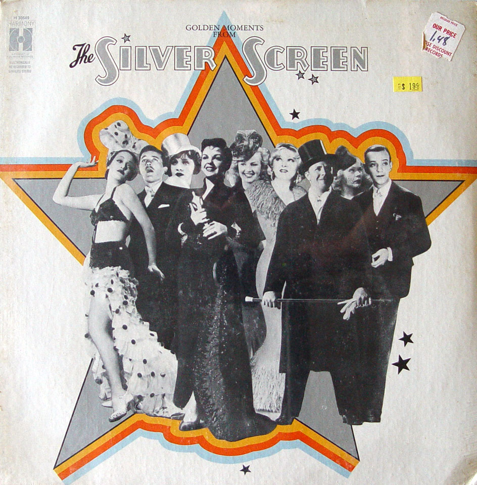 """Golden Moments From The Silver Screen Vinyl 12"""" (New)"""