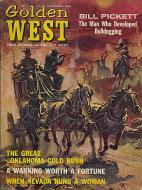Golden West Magazine November 1964 Magazine