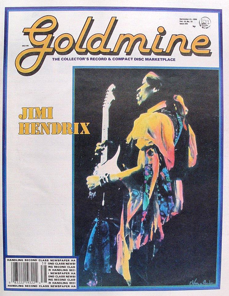 Goldmine Vol. 16 No. 19