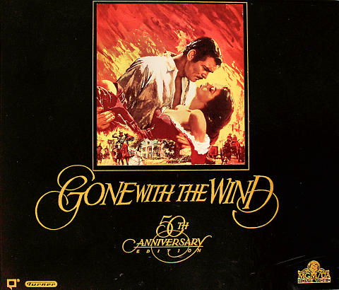 Gone With The Wind 50th Anniversary Edition on VHS VHS