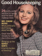 Good Housekeeping April 1972 Magazine