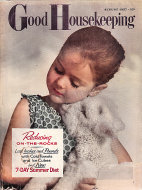 Good Housekeeping August 1957 Magazine
