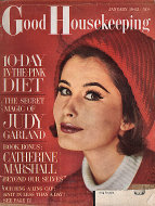 Good Housekeeping January 1962 Magazine