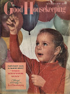Good Housekeeping October 1957 Magazine