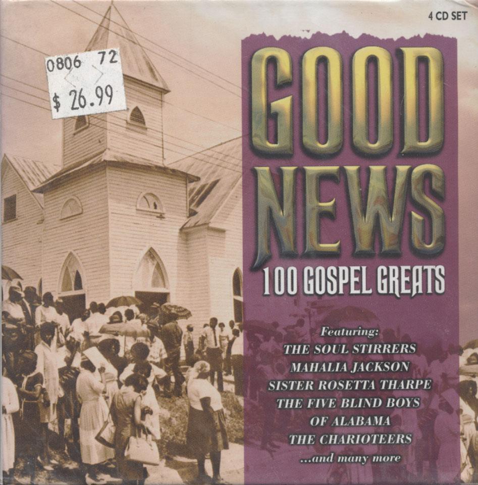 Good News: 1000 Gospel Greats CD