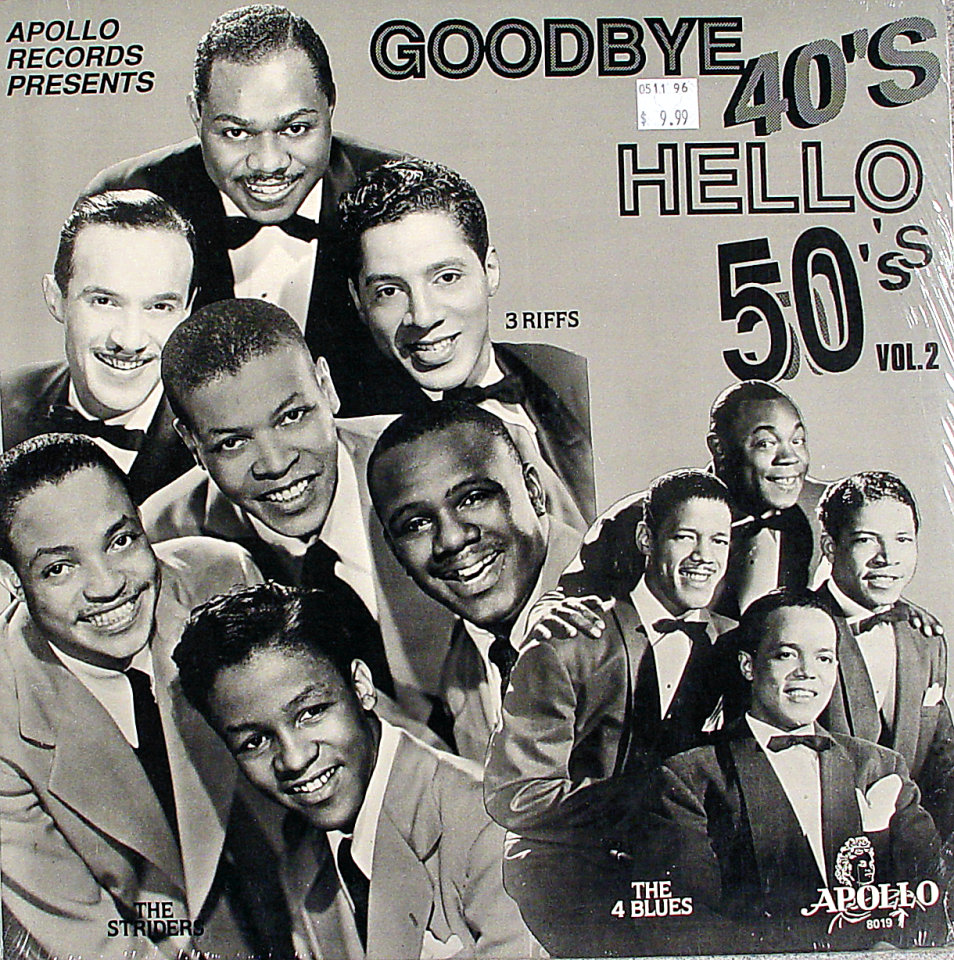 """Goodbye To The 40's, Hello To The 50's Vinyl 12"""" (New)"""