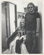 Gordon Lightfoot & Leona Boyd Vintage Print