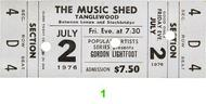 Gordon Lightfoot Vintage Ticket