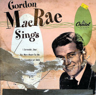 "Gordon MacRae Vinyl 10"" (Used)"
