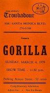 Gorilla Vintage Ticket