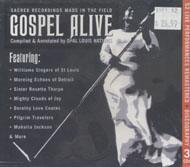 Gospel Alive CD