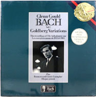"Gould Bach Vol. 1 Goldberg Variations Vinyl 12"" (New)"