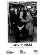 Gov't Mule Promo Print