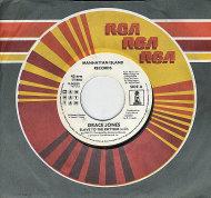 "Grace Jones Vinyl 7"" (Used)"