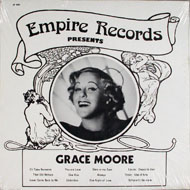 "Grace Moore Vinyl 12"" (New)"