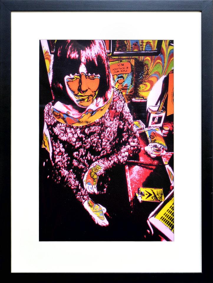Grace Slick Framed Fine Art Print