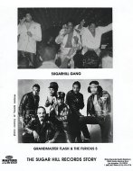 Grandmaster Flash & the Furious Five Promo Print