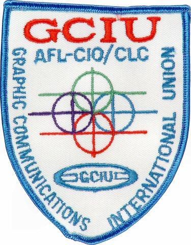 Graphic Comnunications International Union Patch
